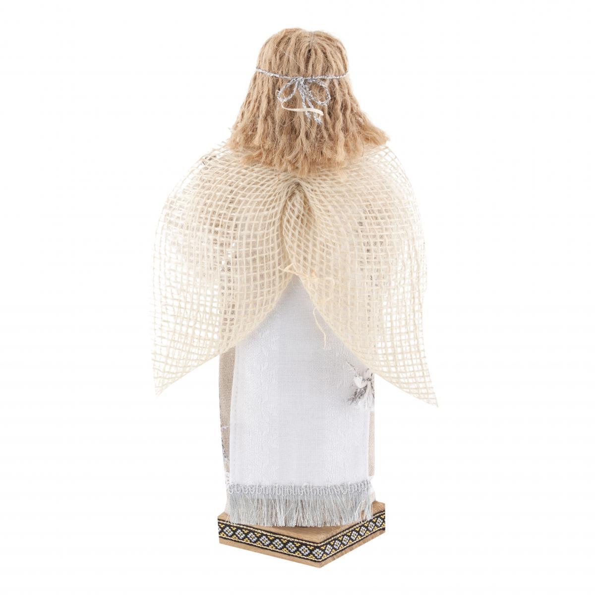 Мотанка Ангел белый. Фото №3. | Народный дом Украина