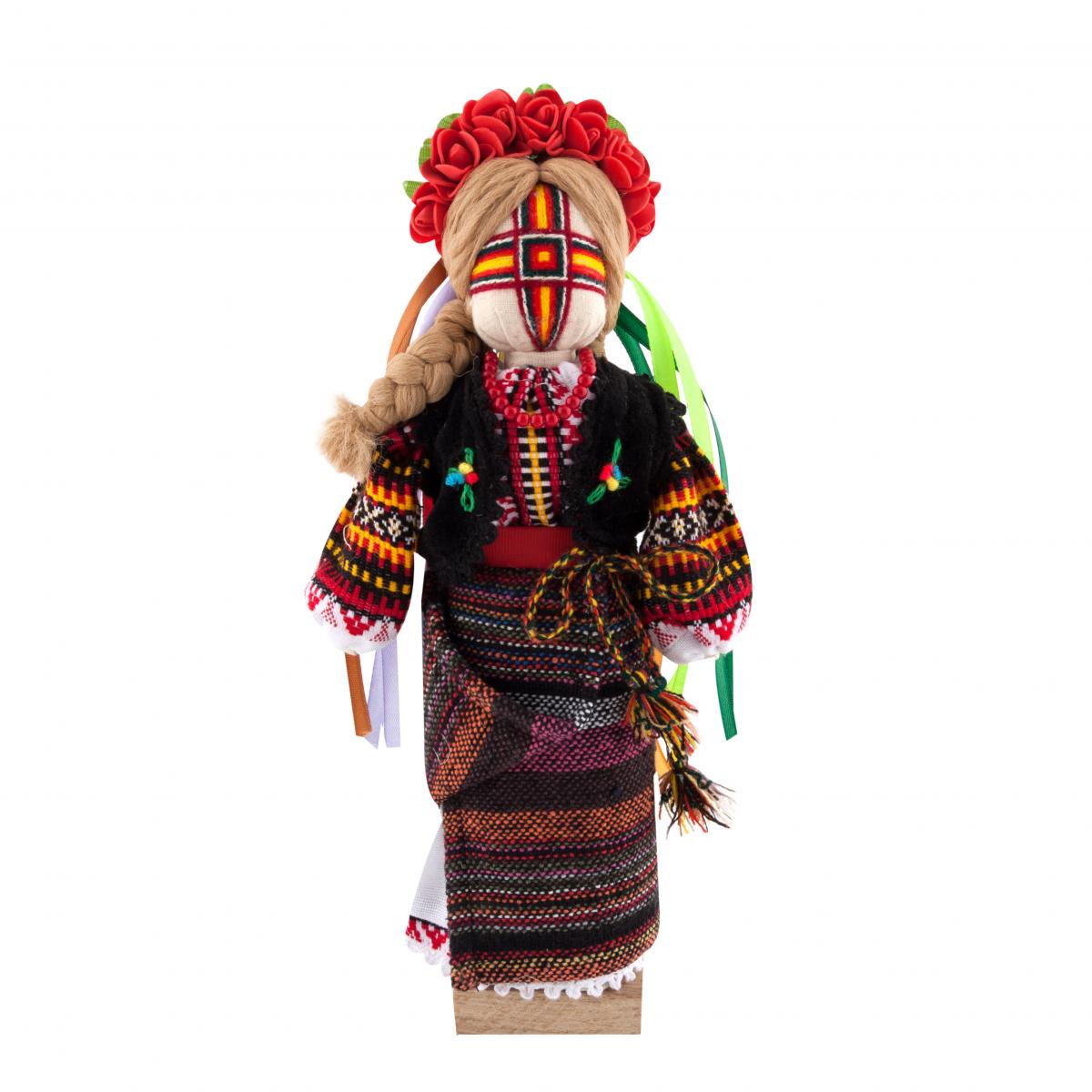 Мотанка Княгиня у вінку. Фото №2. | Народний дім Україна