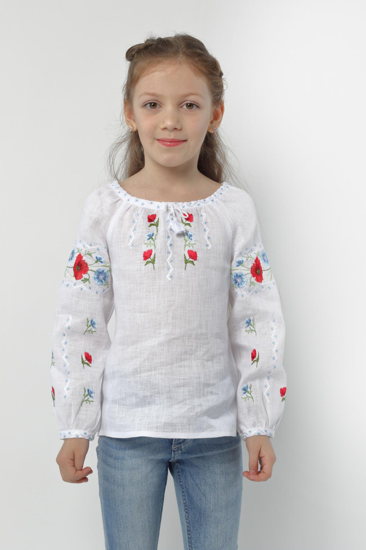 "Embroidery for girls ""Voloshkovy Paradise"". Photo №1. 