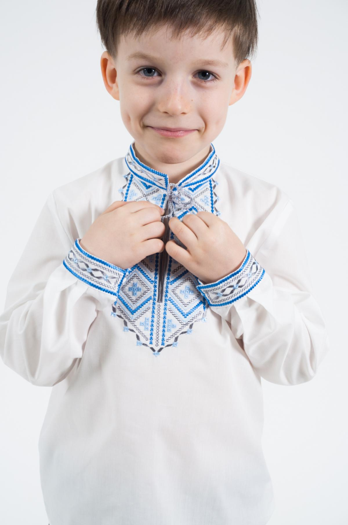 "Embroidery for the boy ""Dikanka"". Photo №5. 