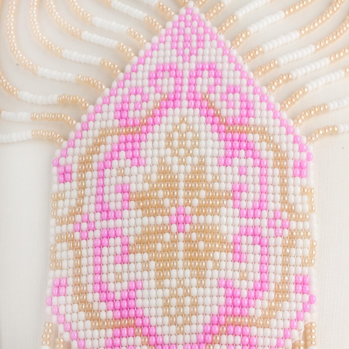 Гердан розовый. Фото №2. | Народный дом Украина