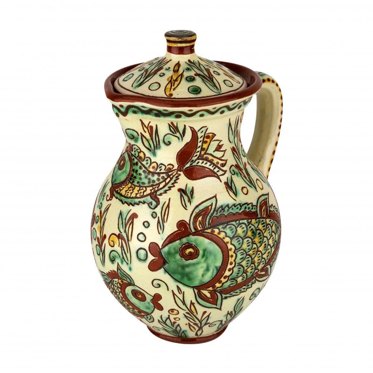 Глечик для напоїв з авторської кераміки. Фото №2. | Народний дім Україна