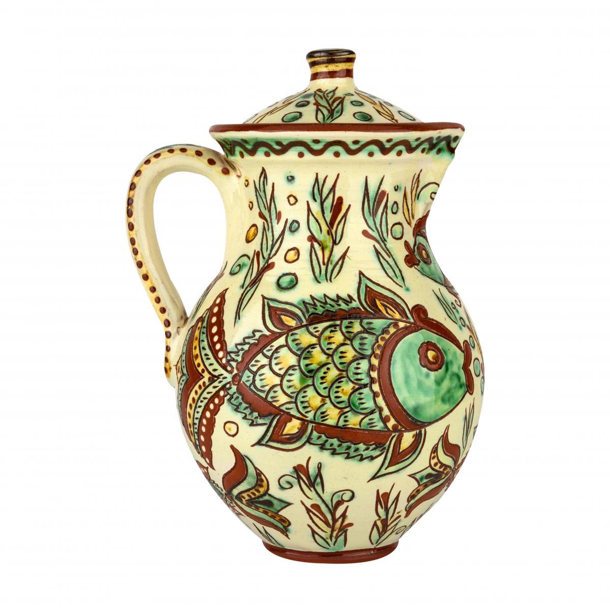 Глечик для напоїв з авторської кераміки. Фото №1. | Народний дім Україна