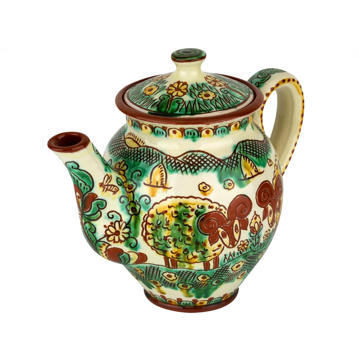 Teapot of craftsman handmade work. Photo №2. | Narodnyi dim Ukraine