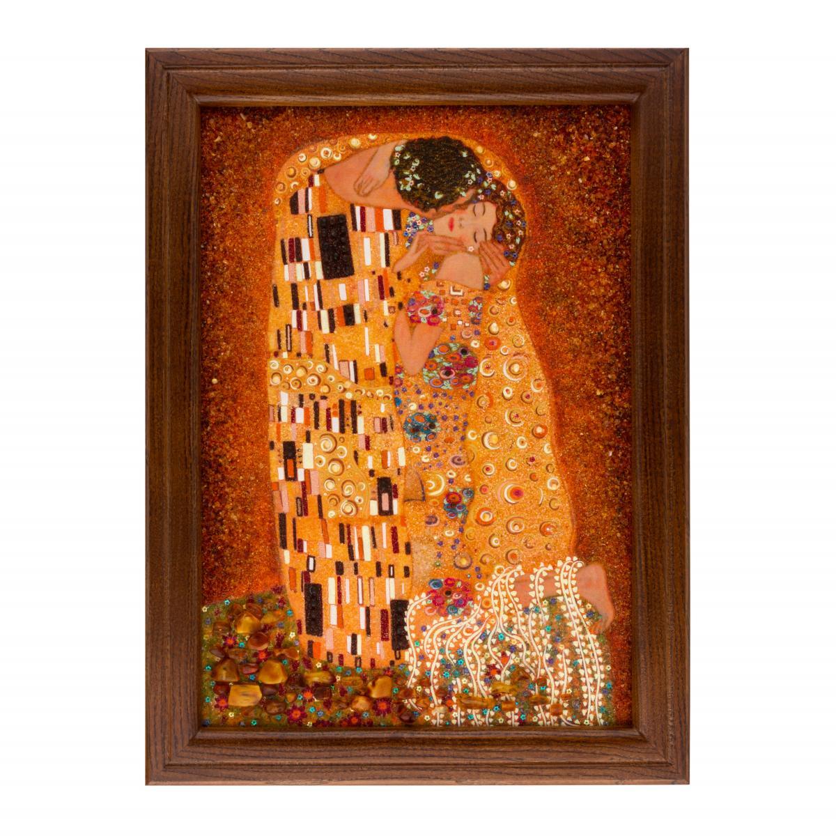 Картина з бурштину Кохання. Фото №1. | Народний дім Україна