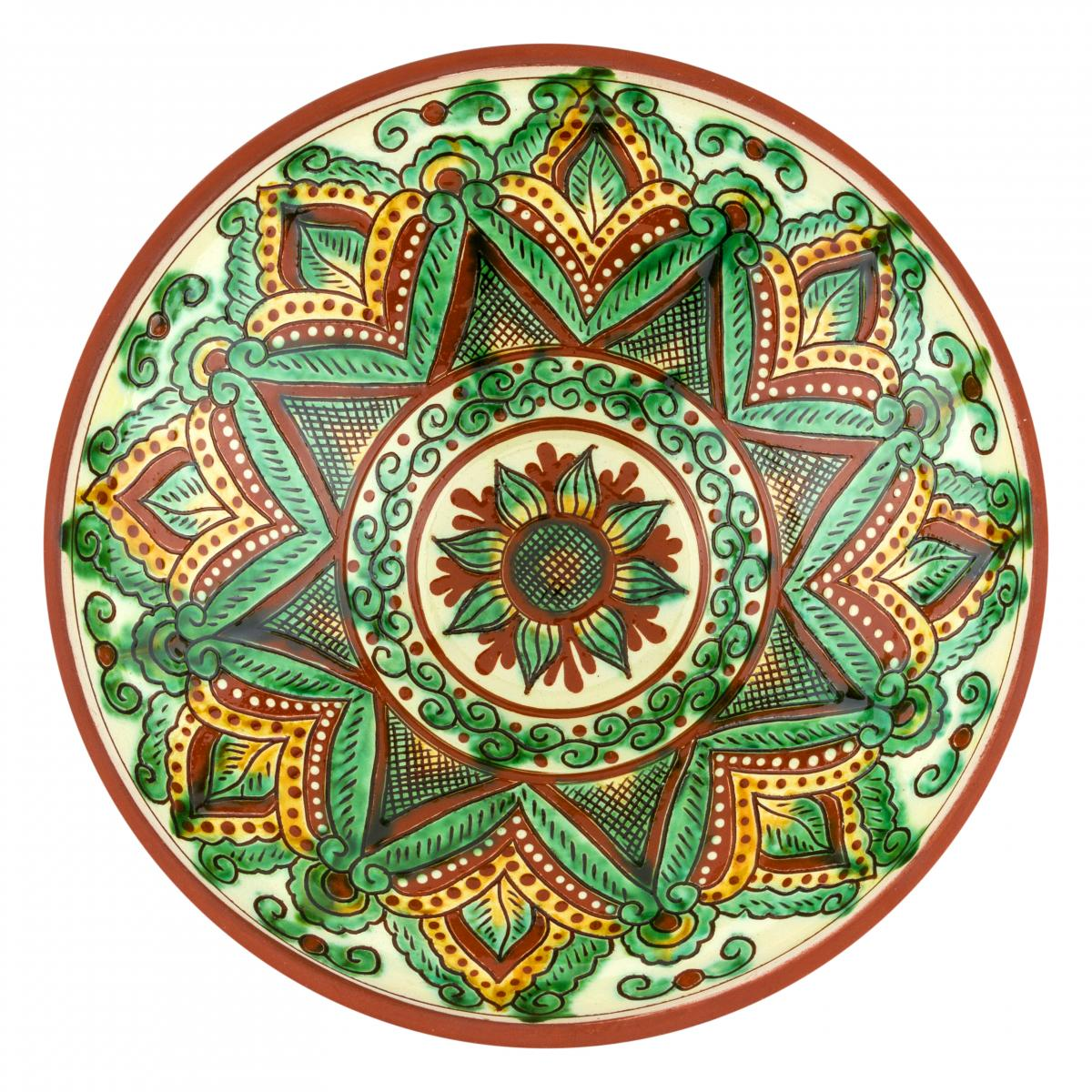 Round deep salad plate, 28 cm. Photo №2. | Narodnyi dim Ukraine