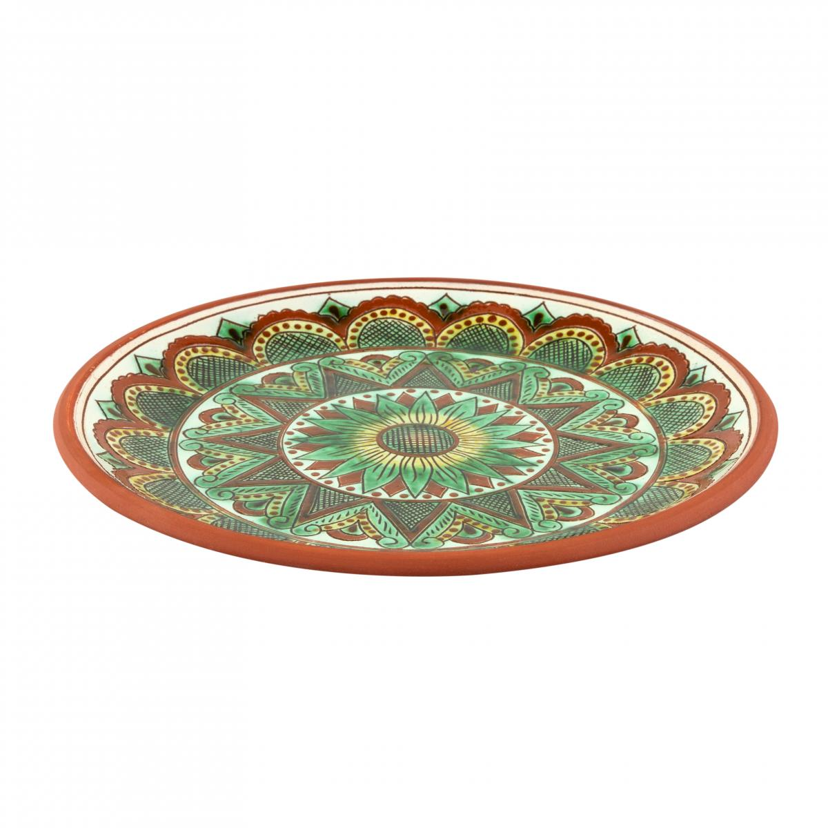 Круглая тарелка для основных блюд, 25 см. Фото №2. | Народный дом Украина