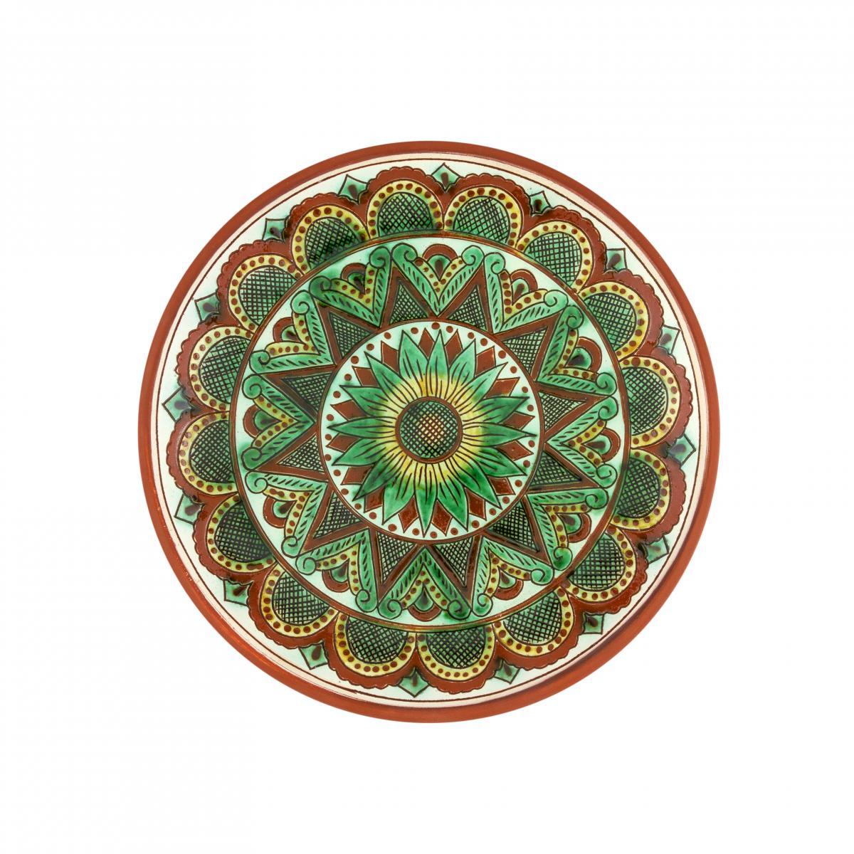 Круглая тарелка для основных блюд, 25 см. Фото №1. | Народный дом Украина