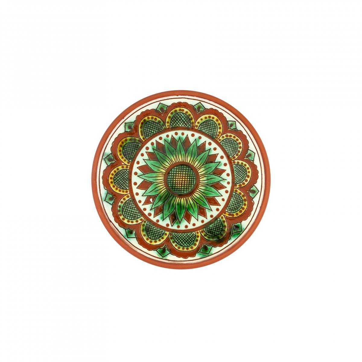 Кругла тарілка для десертів, 17 см. Фото №1. | Народний дім Україна