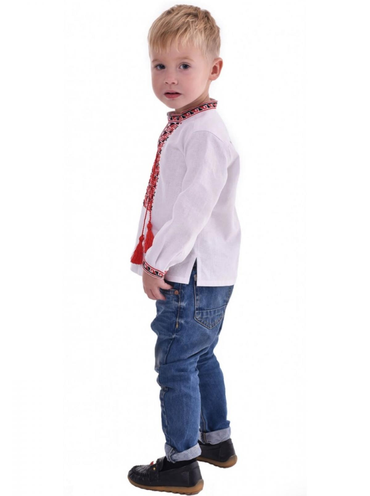 Embroidery for the boy, embroidered with red and black threads. Photo №3. | Narodnyi dim Ukraine