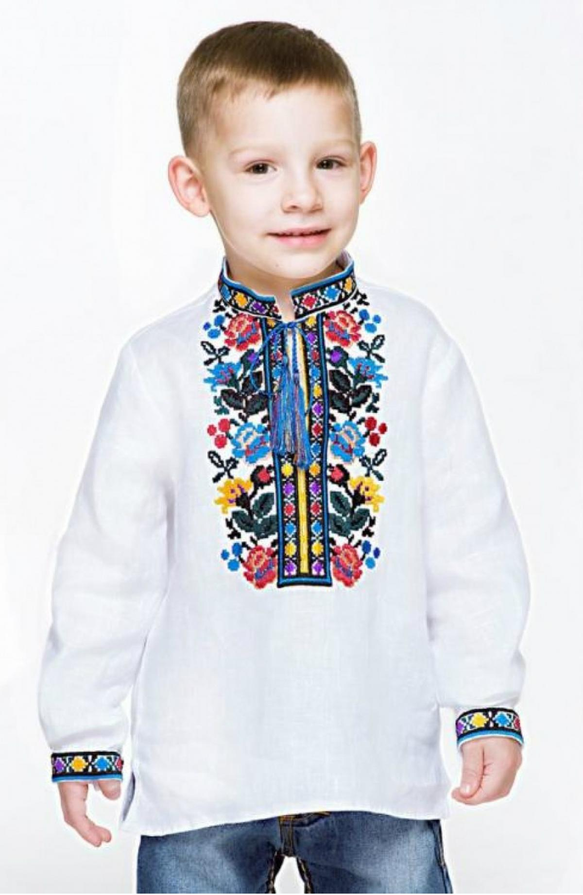 Embroidery for a boy with a Borschivskiy pattern. Photo №1. | Narodnyi dim Ukraine