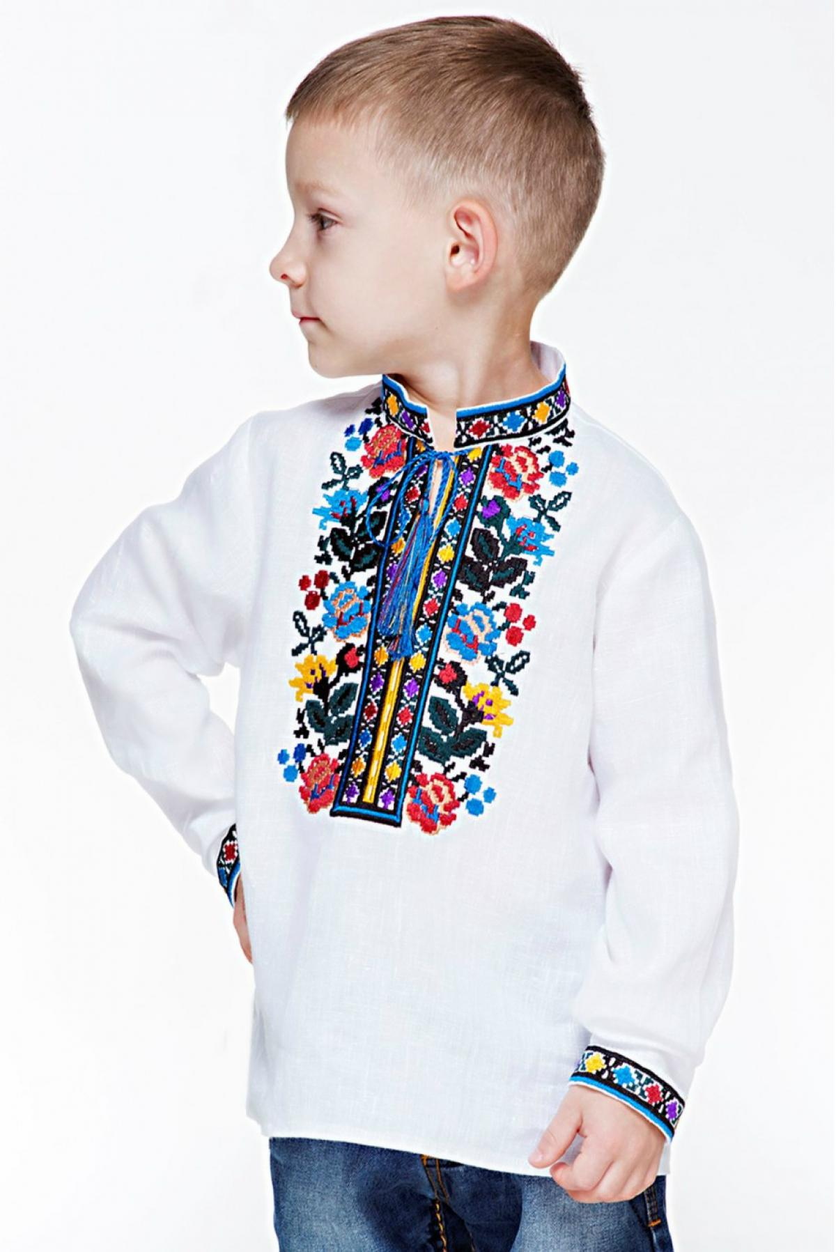 Embroidery for a boy with a Borschivskiy pattern. Photo №2. | Narodnyi dim Ukraine