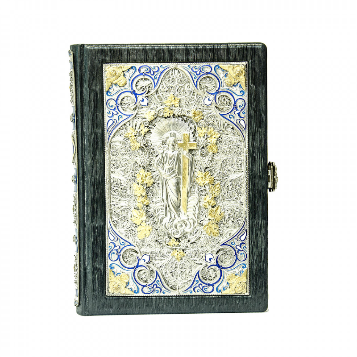 The Bible is in an expensive decoration. Photo №1. | Narodnyi dim Ukraine