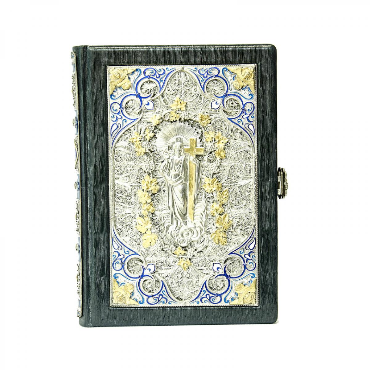 Эксклюзивная Библия в кожаном переплете. Фото №1. | Народный дом Украина