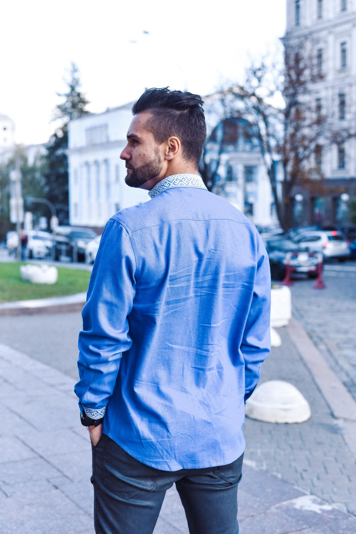 Embroidered shirt  for men. Photo №2. | Narodnyi dim Ukraine