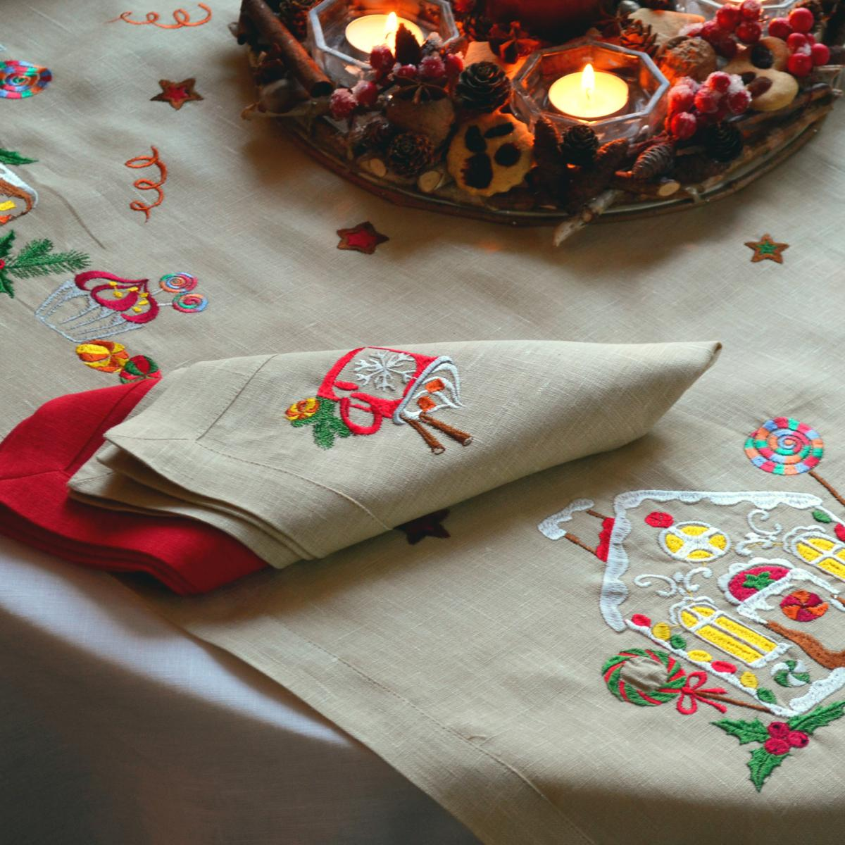 Napkin for the table