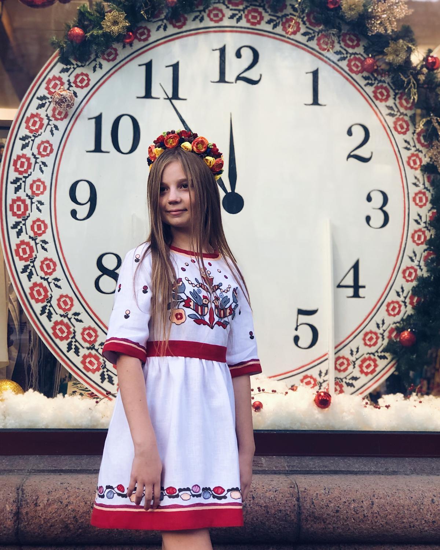 Вишита сукня для дівчинки. Фото №2. | Народний дім Україна