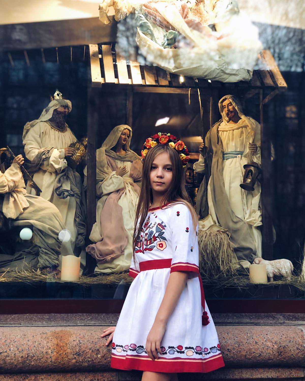 Вишита сукня для дівчинки. Фото №3. | Народний дім Україна