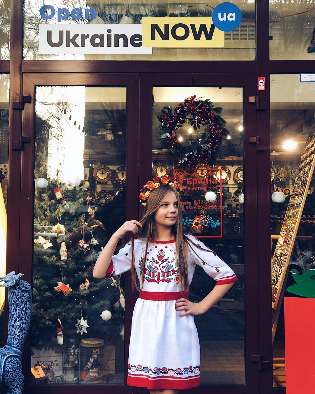 Вишита сукня для дівчинки. Фото №4. | Народний дім Україна