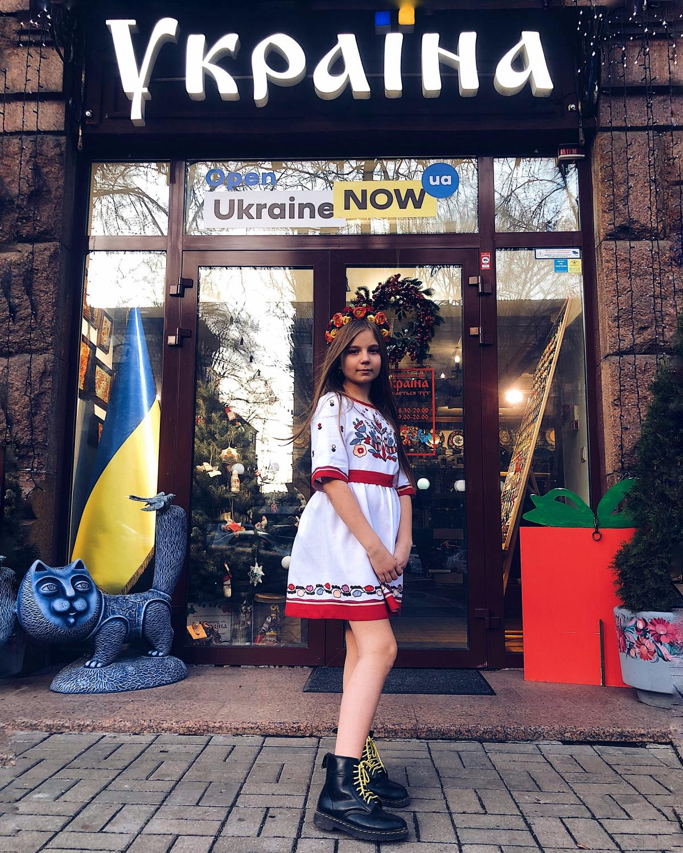 Designer embroidered dress. Photo №1. | Narodnyi dim Ukraine