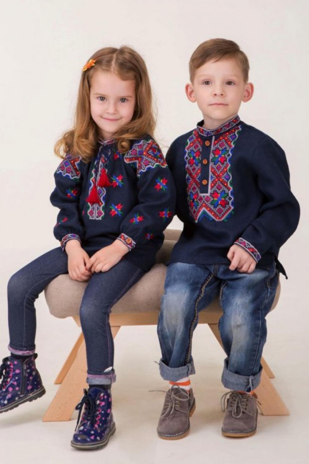 Вышиванка для девочки . Фото №2. | Народный дом Украина