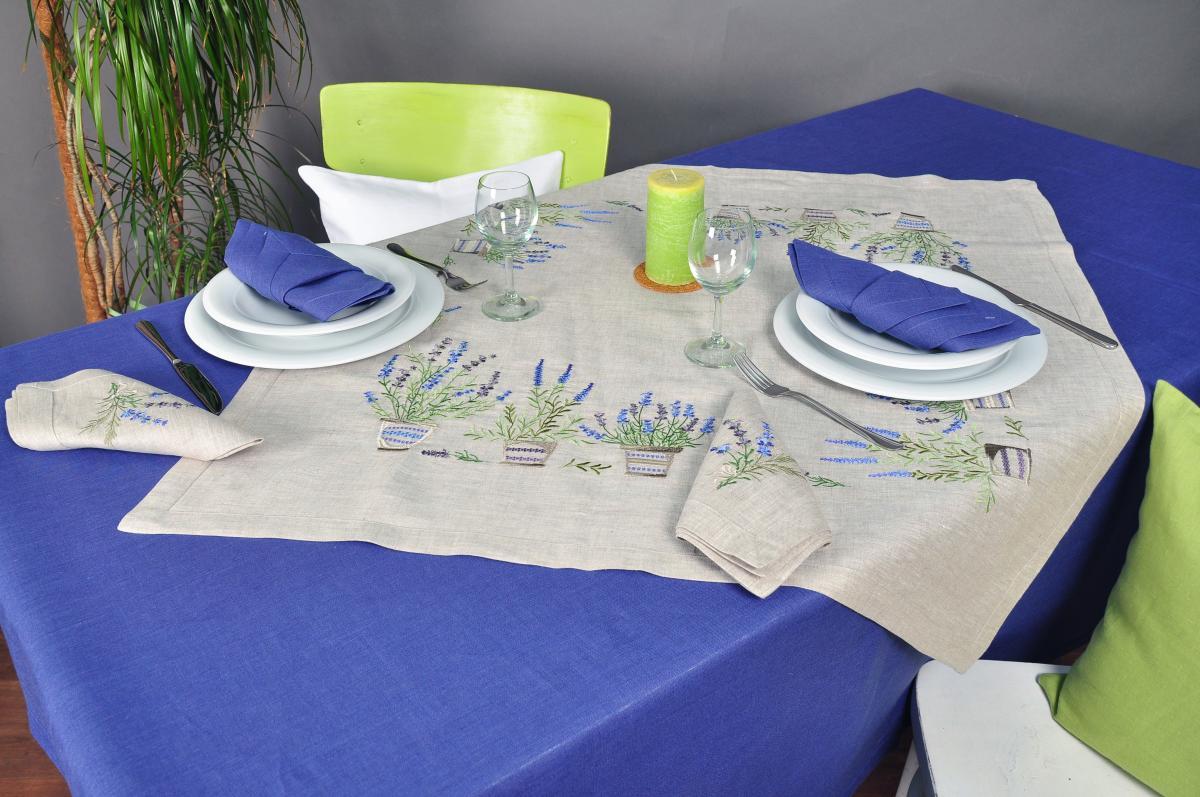 "Tabletcloth  ""Lavender"" 90 * 90 cm"