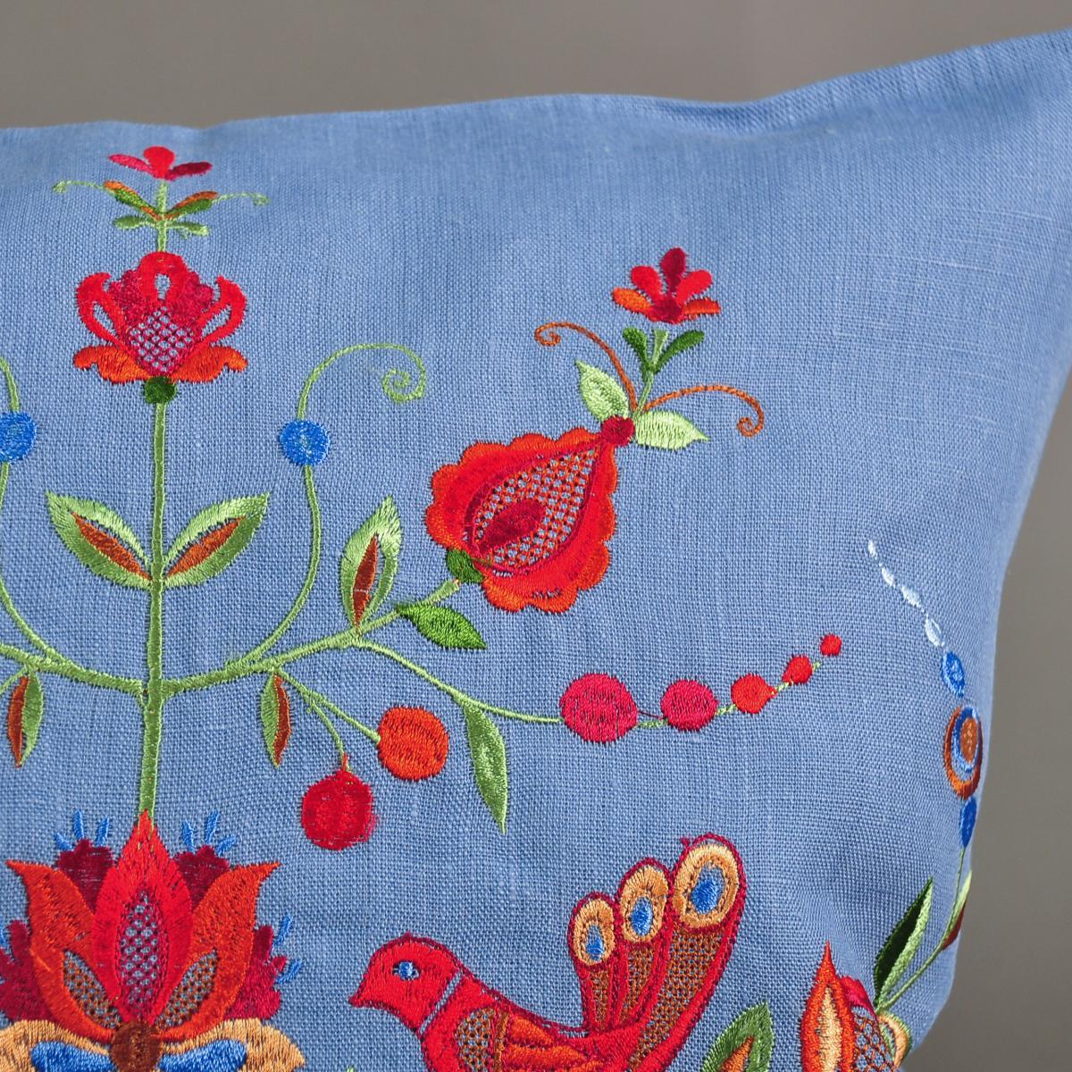 Pillowcase with embroidery. Photo №2. | Narodnyi dim Ukraine