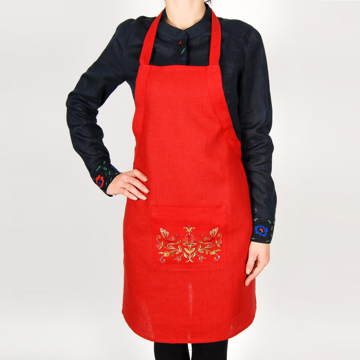 Apron for your kitchen with embroidery. Photo №2. | Narodnyi dim Ukraine