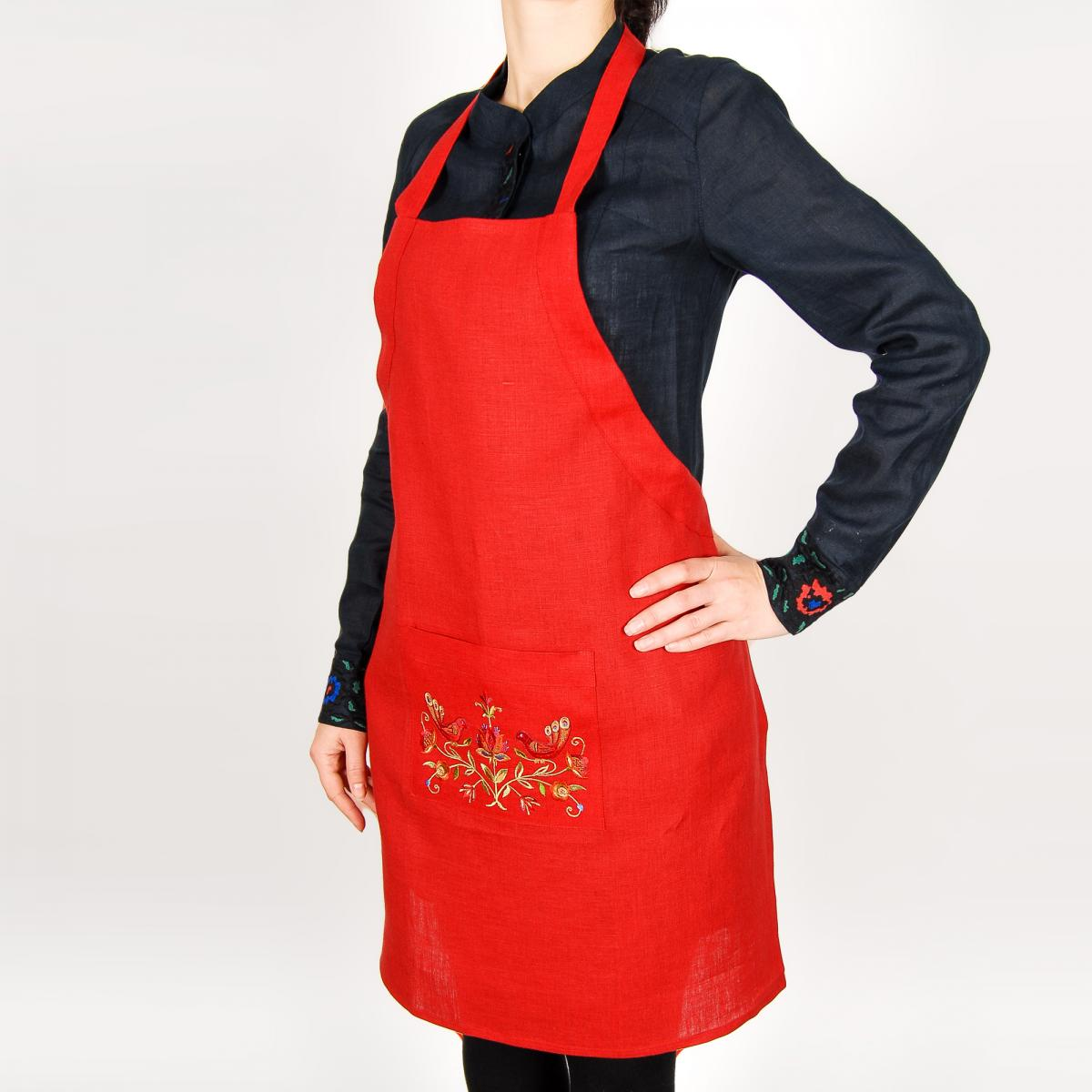 Apron for your kitchen with embroidery. Photo №3. | Narodnyi dim Ukraine