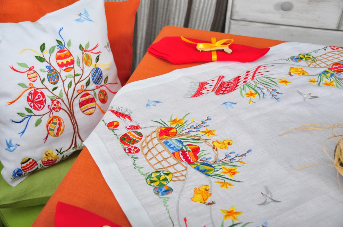 White Pillowcase with embroidery. Photo №2. | Narodnyi dim Ukraine