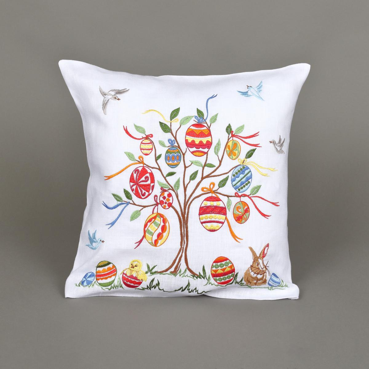 White Pillowcase with embroidery. Photo №1. | Narodnyi dim Ukraine