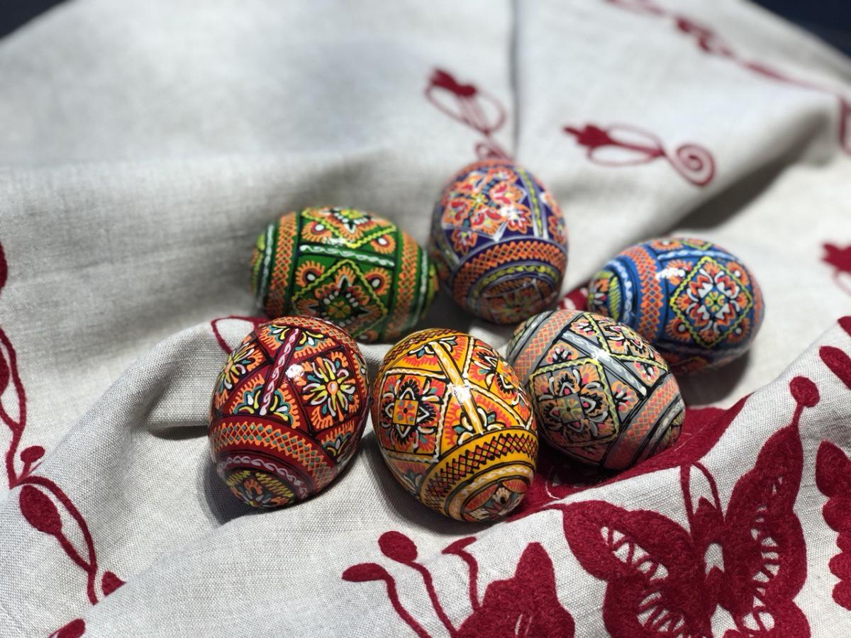 Pysanka with painting. Photo №1. | Narodnyi dim Ukraine