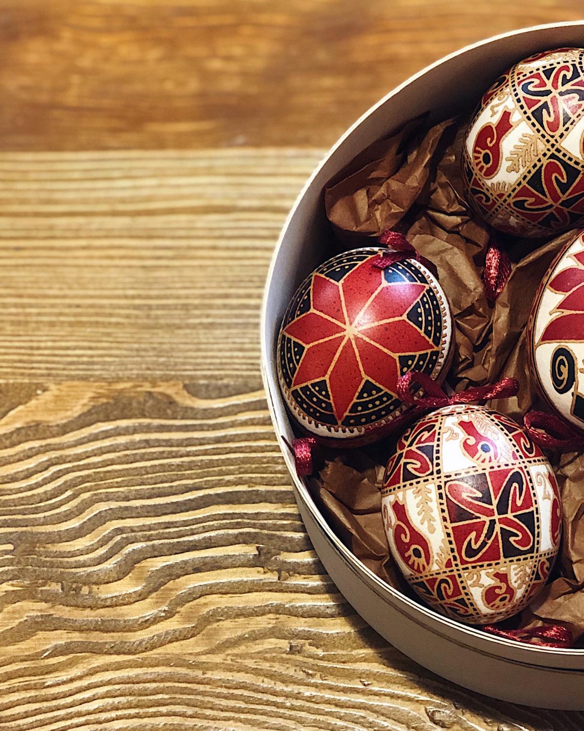 Набор писанок з натурального яйця. Фото №5. | Народный дом Украина