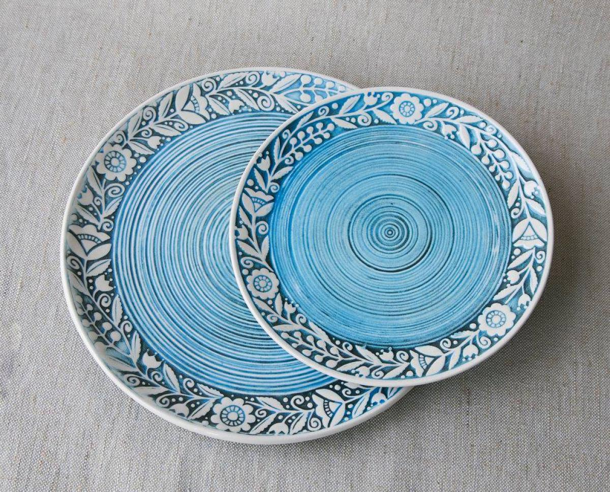 Ceramic plate – 17 cm. Photo №2. | Narodnyi dim Ukraine