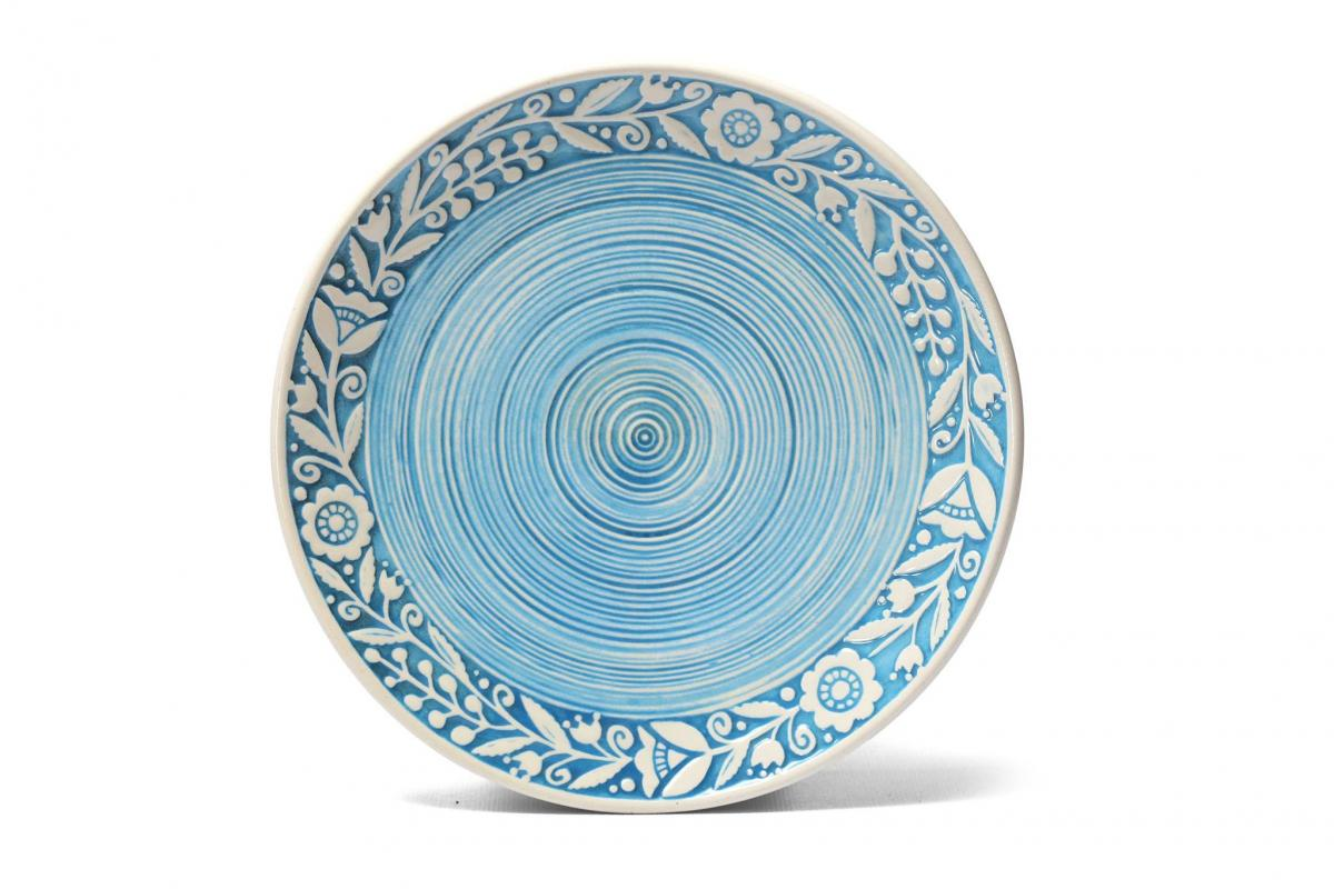 Тарелка керамическая - 17 см. Фото №1. | Народный дом Украина