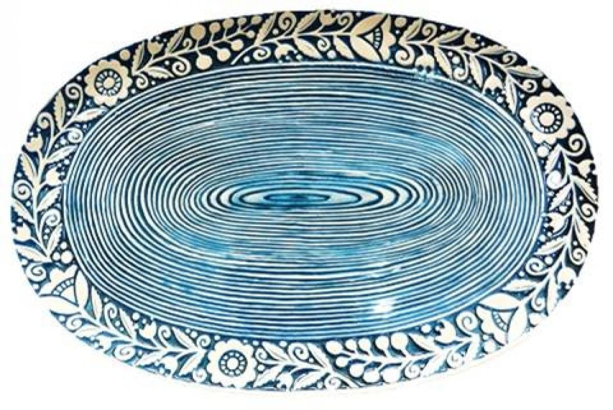 Oval plate. Photo №1. | Narodnyi dim Ukraine