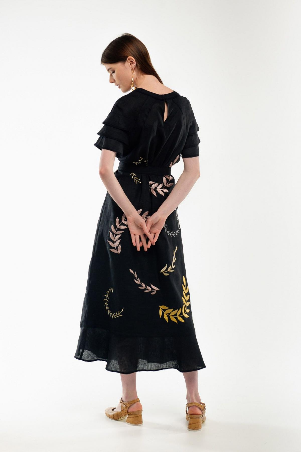 Embroidery dress black Miss. Photo №3. | Narodnyi dim Ukraine