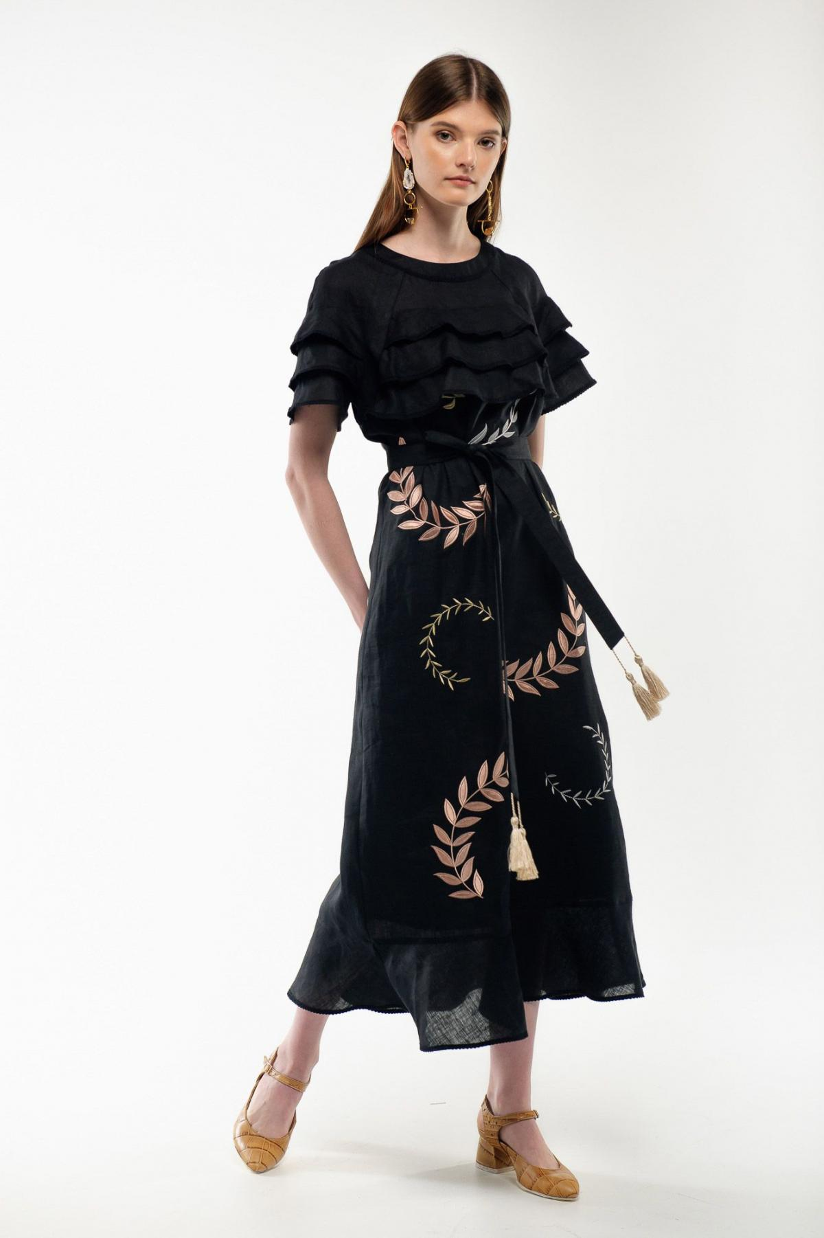 Embroidery dress black Miss. Photo №1. | Narodnyi dim Ukraine