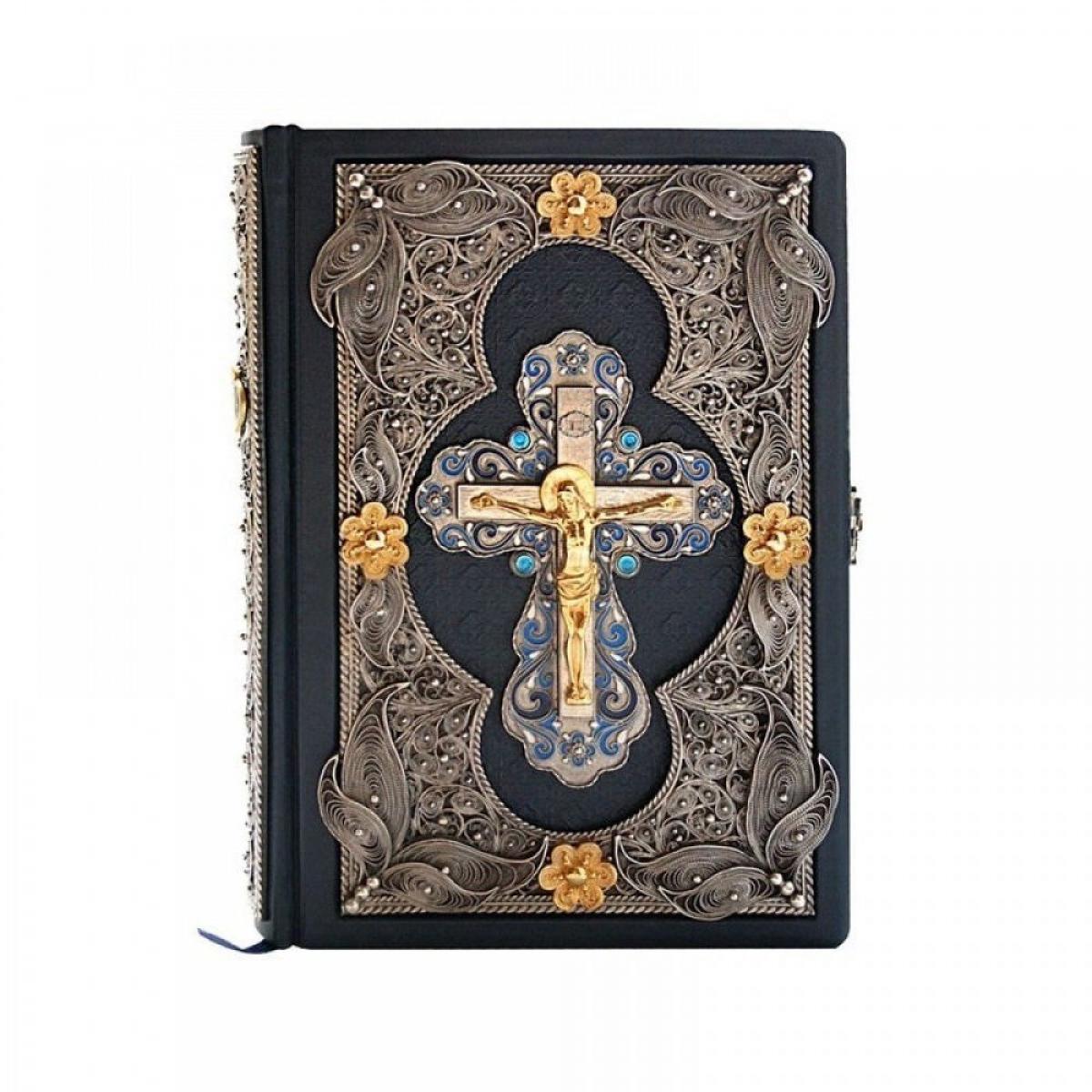 Эксклюзивная Библия в кожаном переплете (укр)