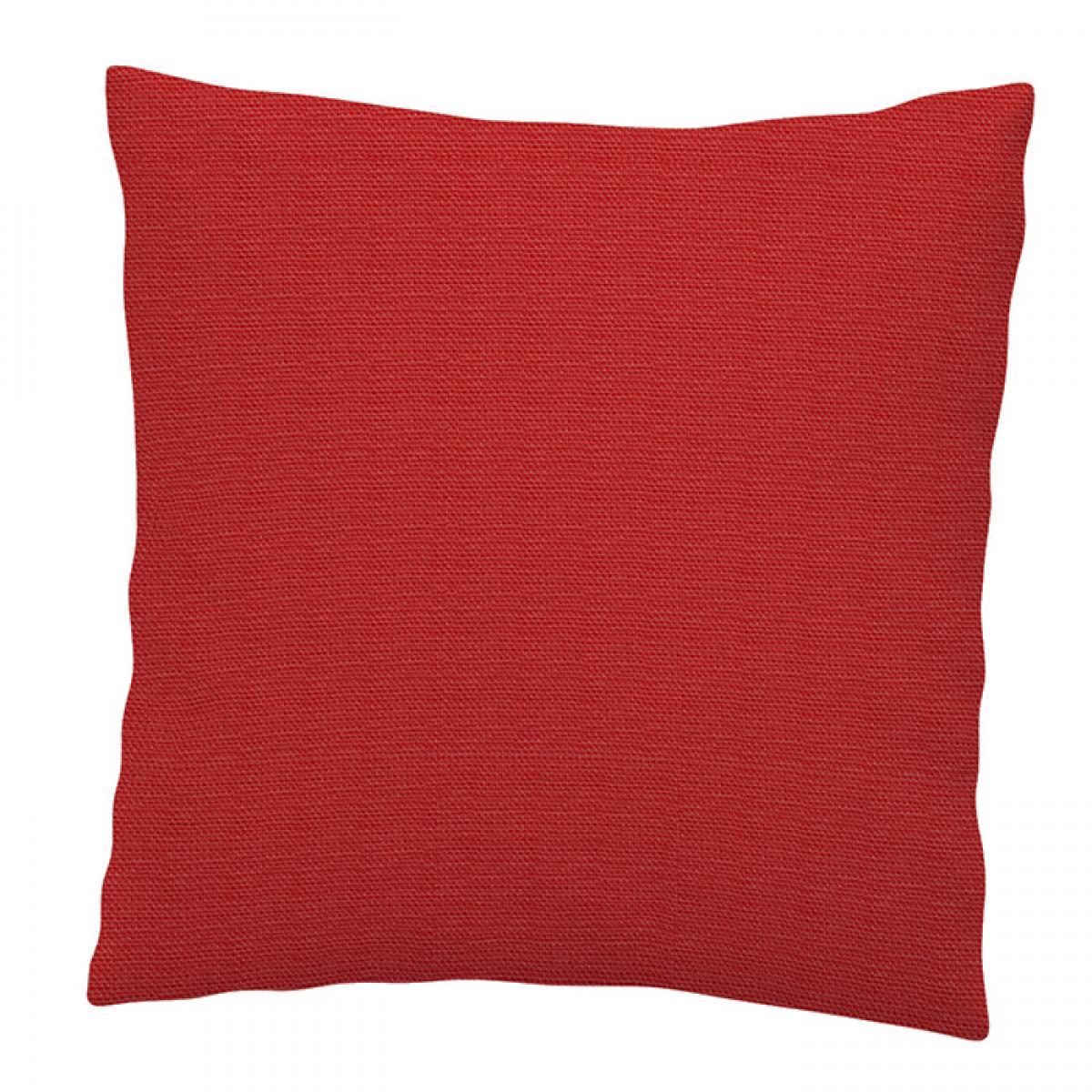 Red pillowcase without embroidery 40 * 40. Photo №1. | Narodnyi dim Ukraine