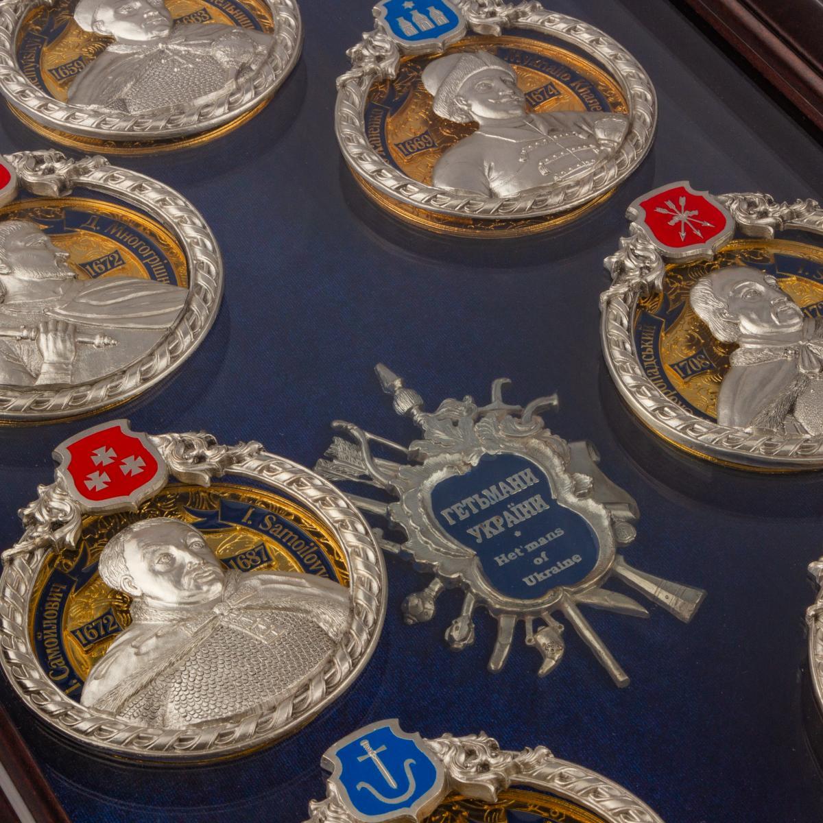 Подарочный сувенир Гетманы Украины. Фото №3. | Народный дом Украина