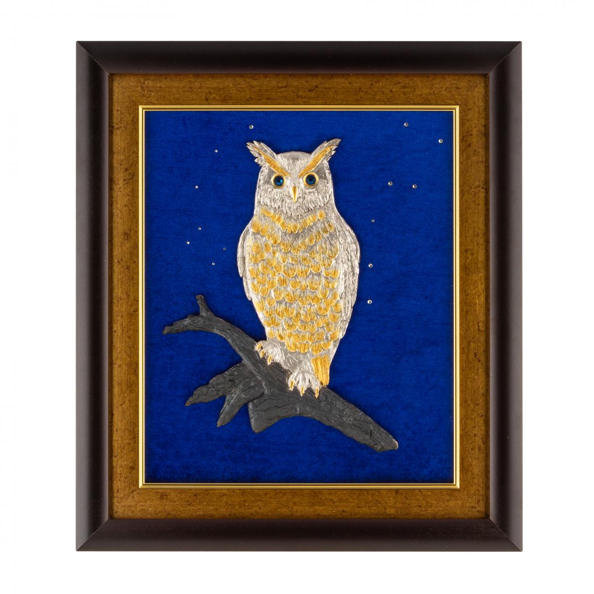 """Owl"" painting. Photo №1. 