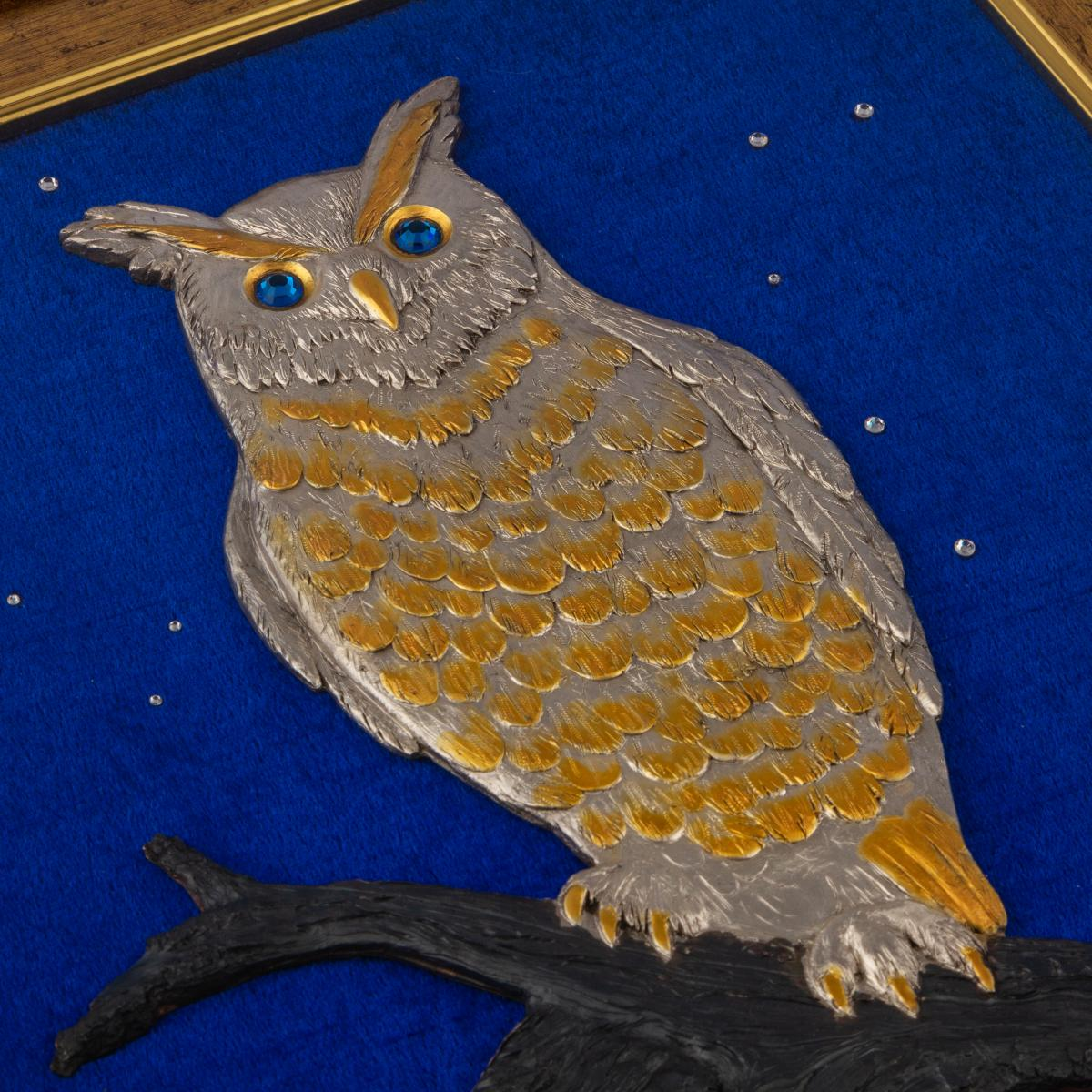 """Owl"" painting. Photo №2. 