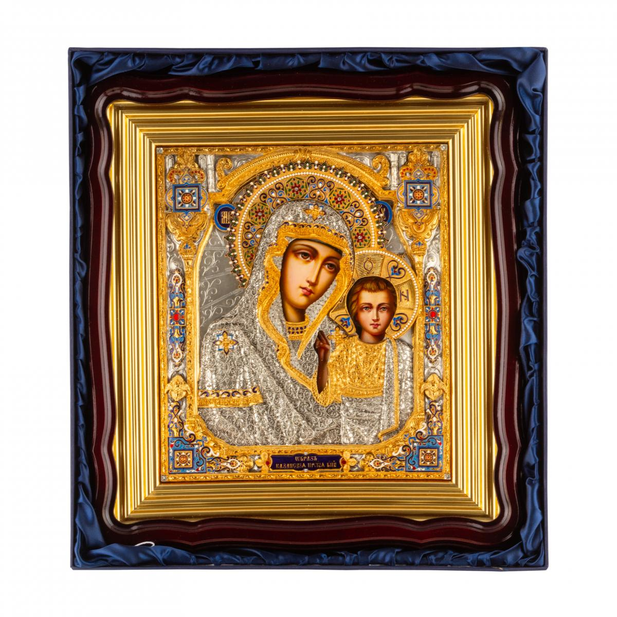 Эксклюзивная икона Божией Матери Казанская. Фото №4. | Народный дом Украина