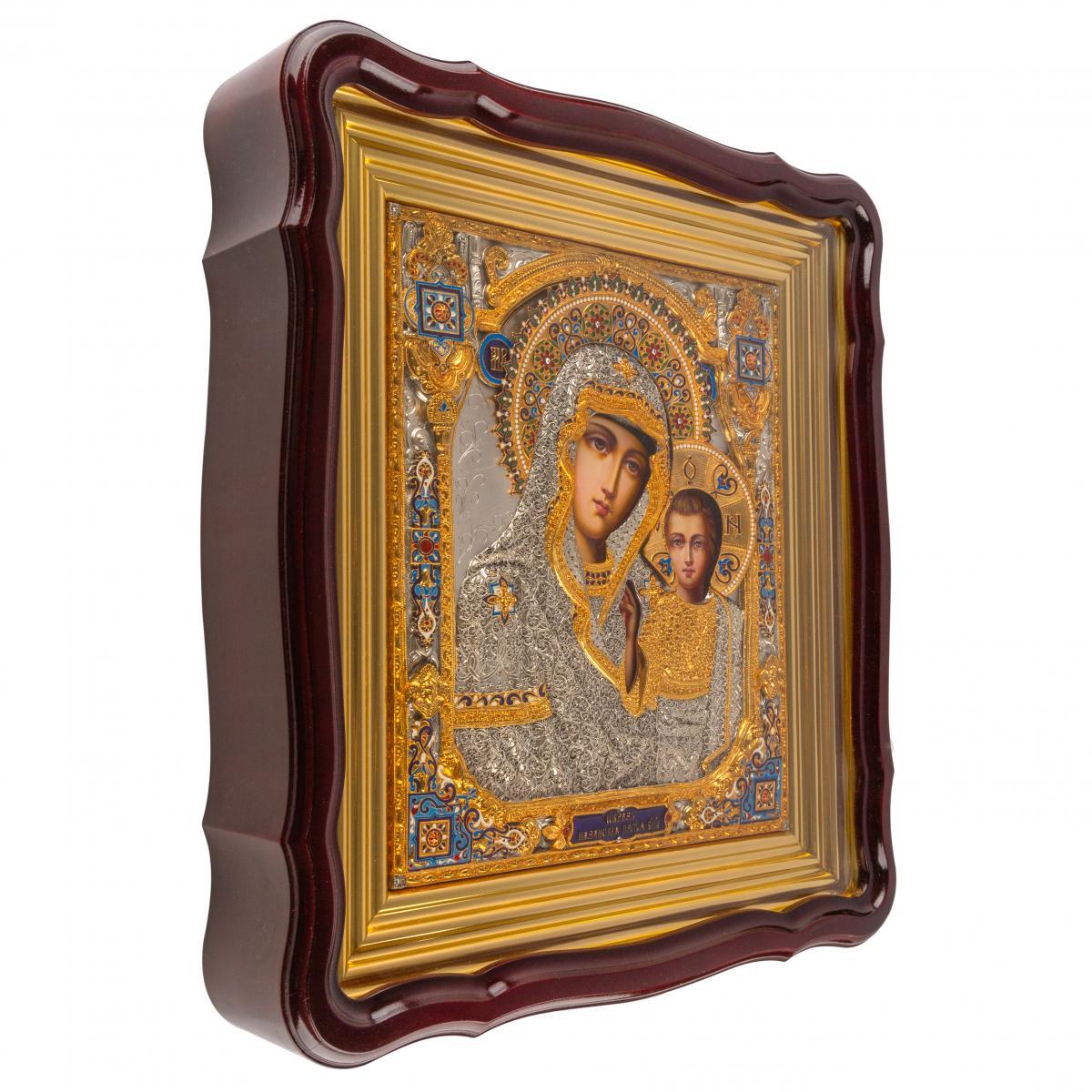 Эксклюзивная икона Божией Матери Казанская. Фото №1. | Народный дом Украина