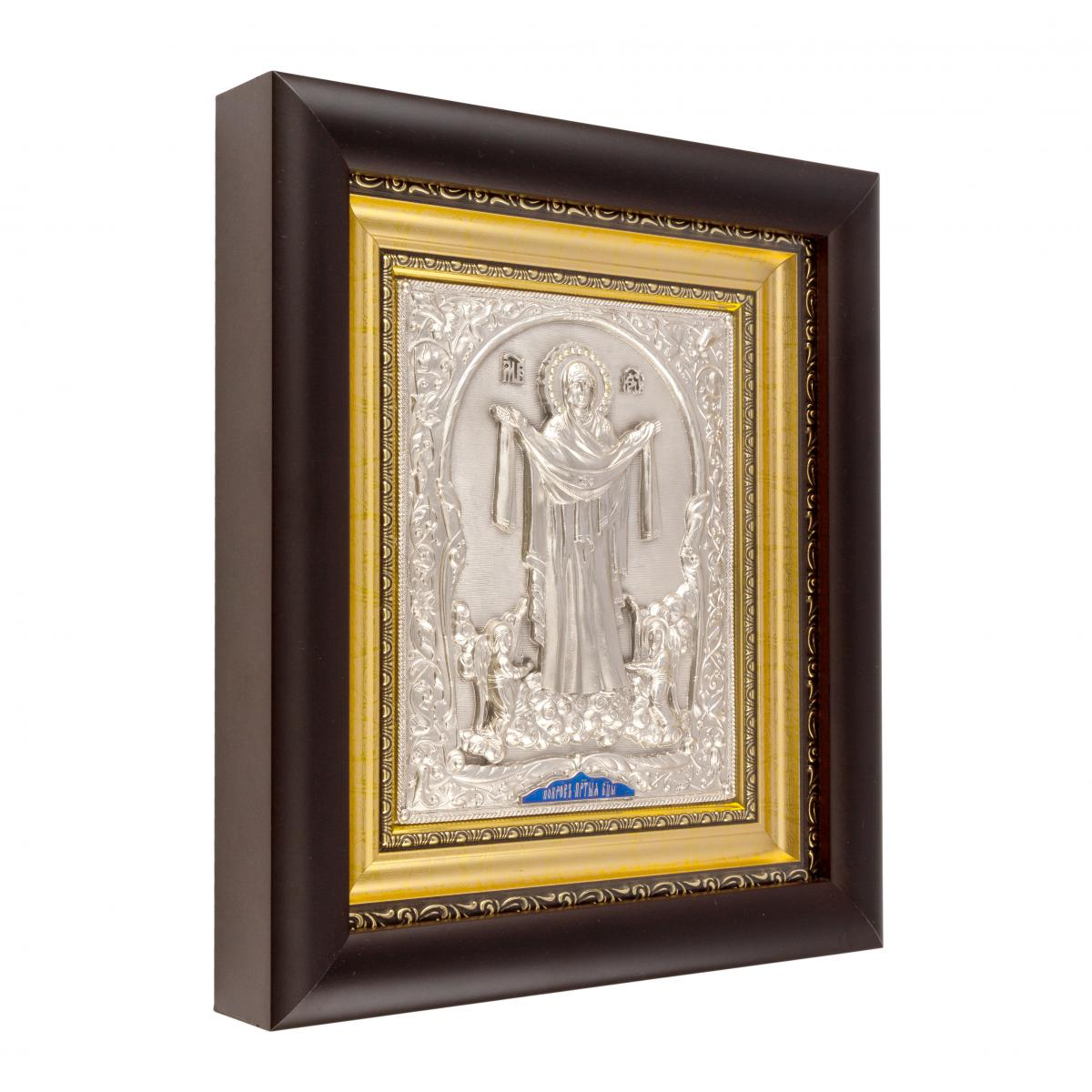 Icon of the Protection of the Holy Virgin. Photo №2. | Narodnyi dim Ukraine