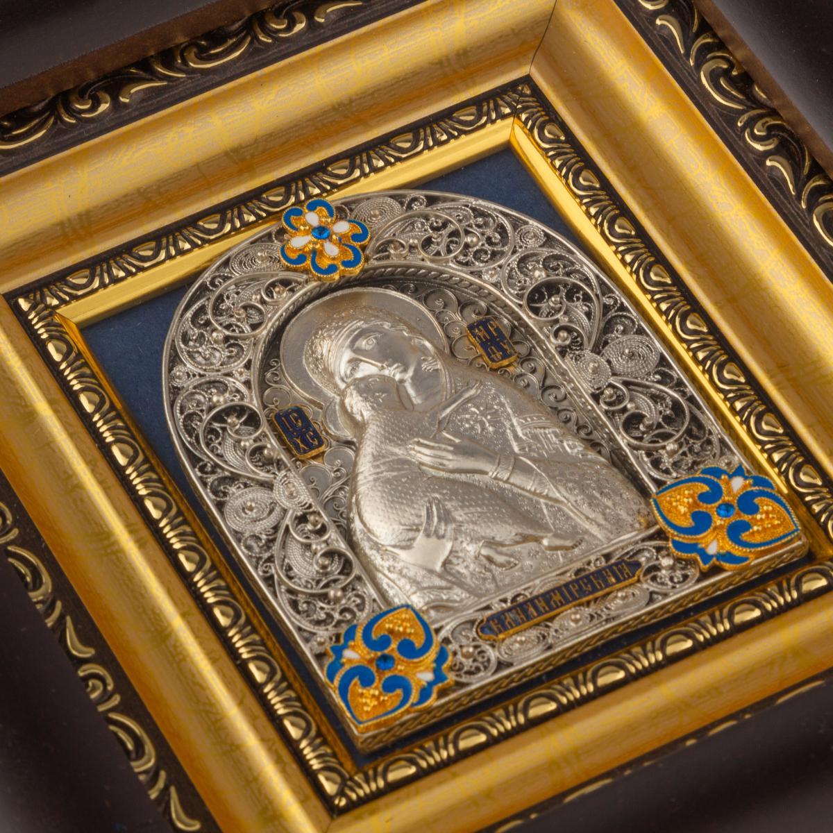 Ікона Пресвятої Богородиці Володимирська, КУ. Фото №3. | Народний дім Україна