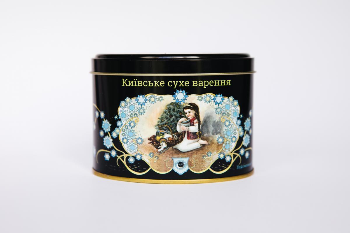 Киевское сухое варенье, Сувенир из Киева. банка №2