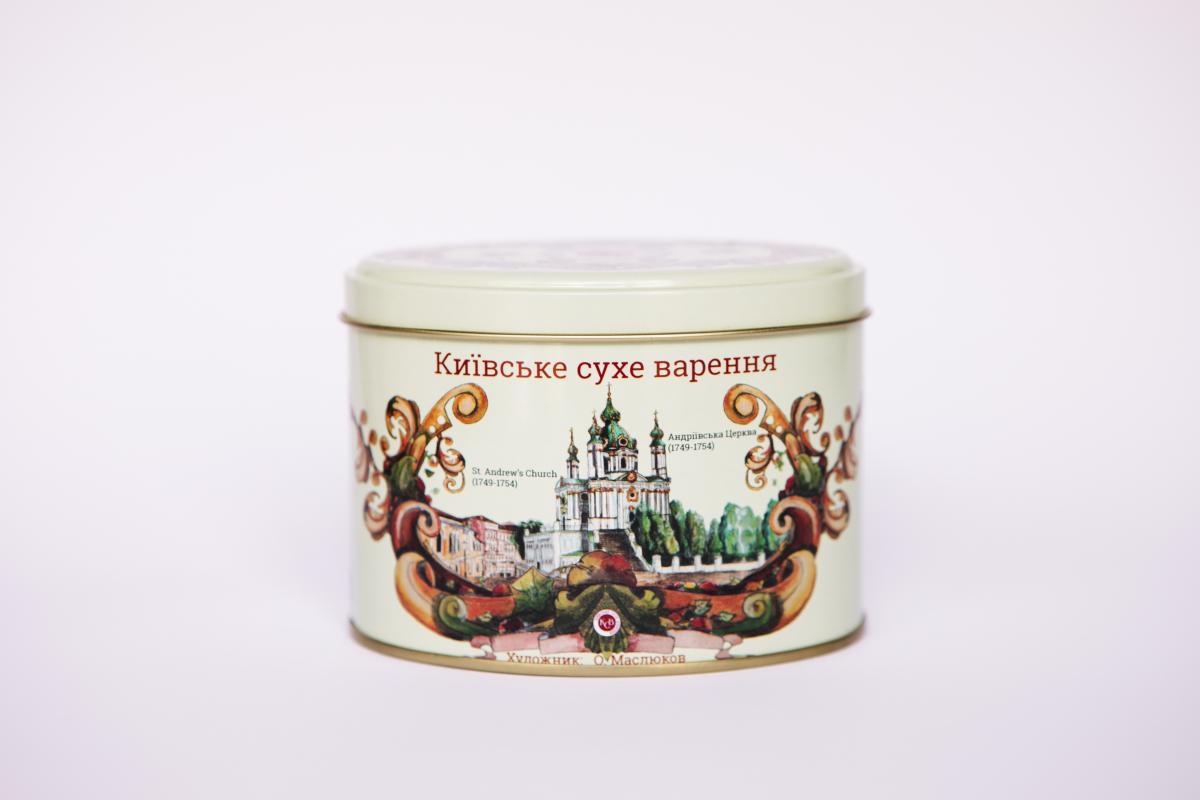 Киевское сухое варенье, Сувенир из Киева. банка №3